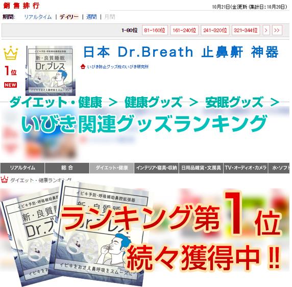 日本 Dr.Breath 止鼻鼾 神器1