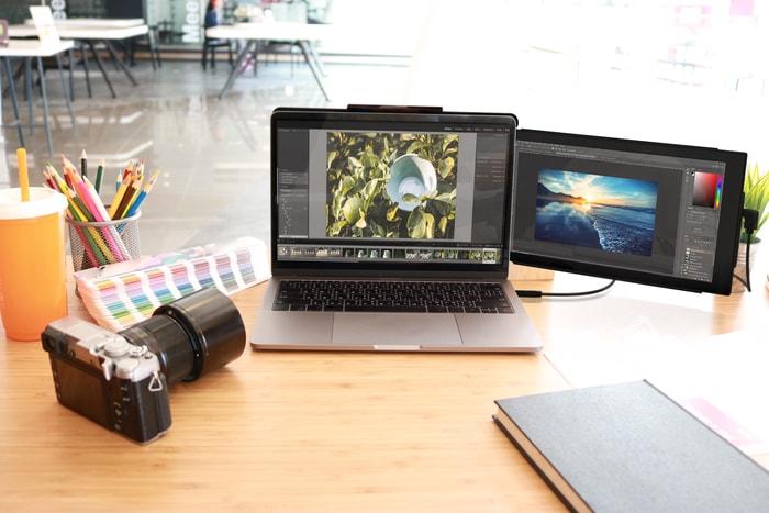 TRIO筆電外接雙螢幕顯示器10
