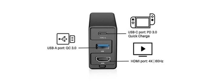 12Dongii Switch專用 多合1轉插器