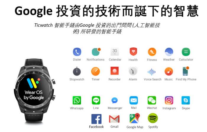 Ticwatch Pro 顛覆電量智能手錶 Hong Kong 香港 hk Searchingc searching c Mobvoi 智能手錶 SmartWatch 005