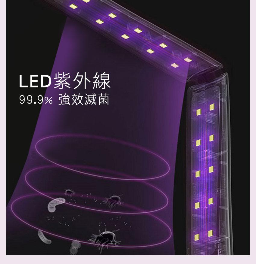 59S LED 摺疊式紫外線殺菌棒 4