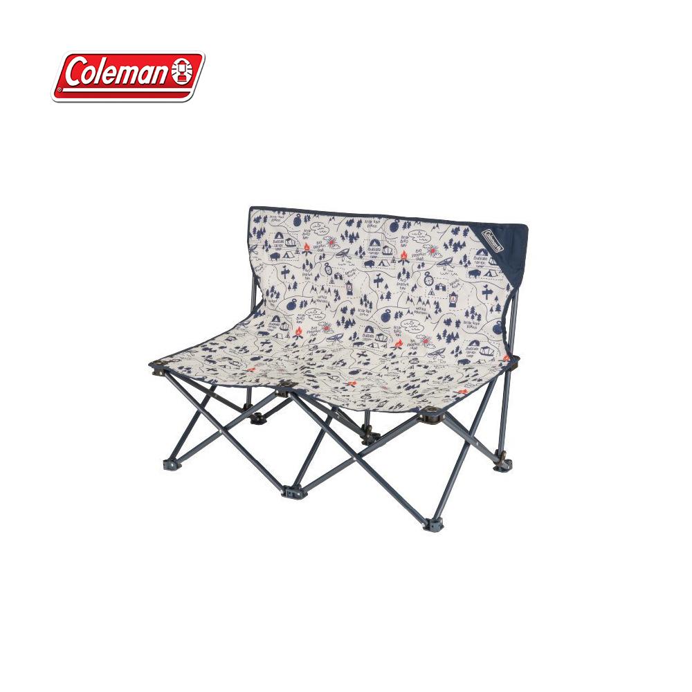 Coleman 露營地圖情人椅