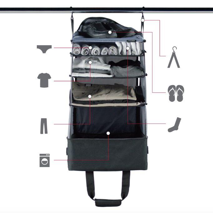 加拿大 Jumper 行動衣櫥肩背袋 2