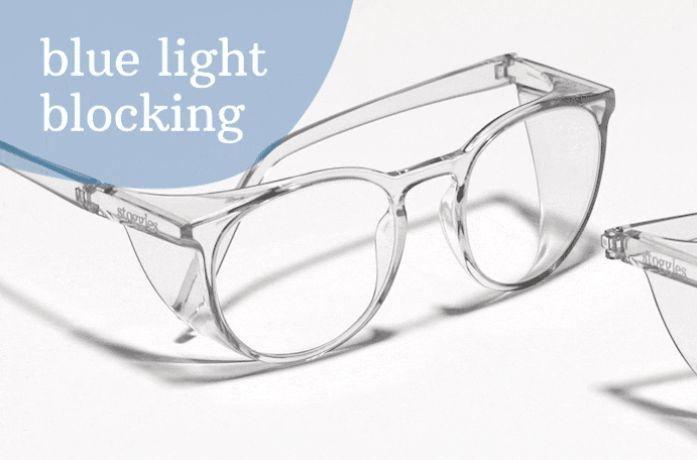 Stoggles_優質鏡片,防霧、防藍光、防UV