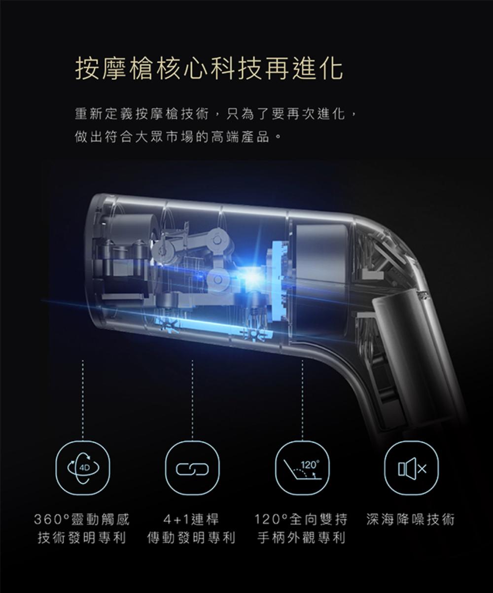 TAKASIMA-高島-超手感4D按摩槍-發明專利