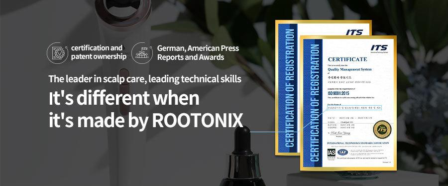 ROOTONIX-ROOT FARM-認證