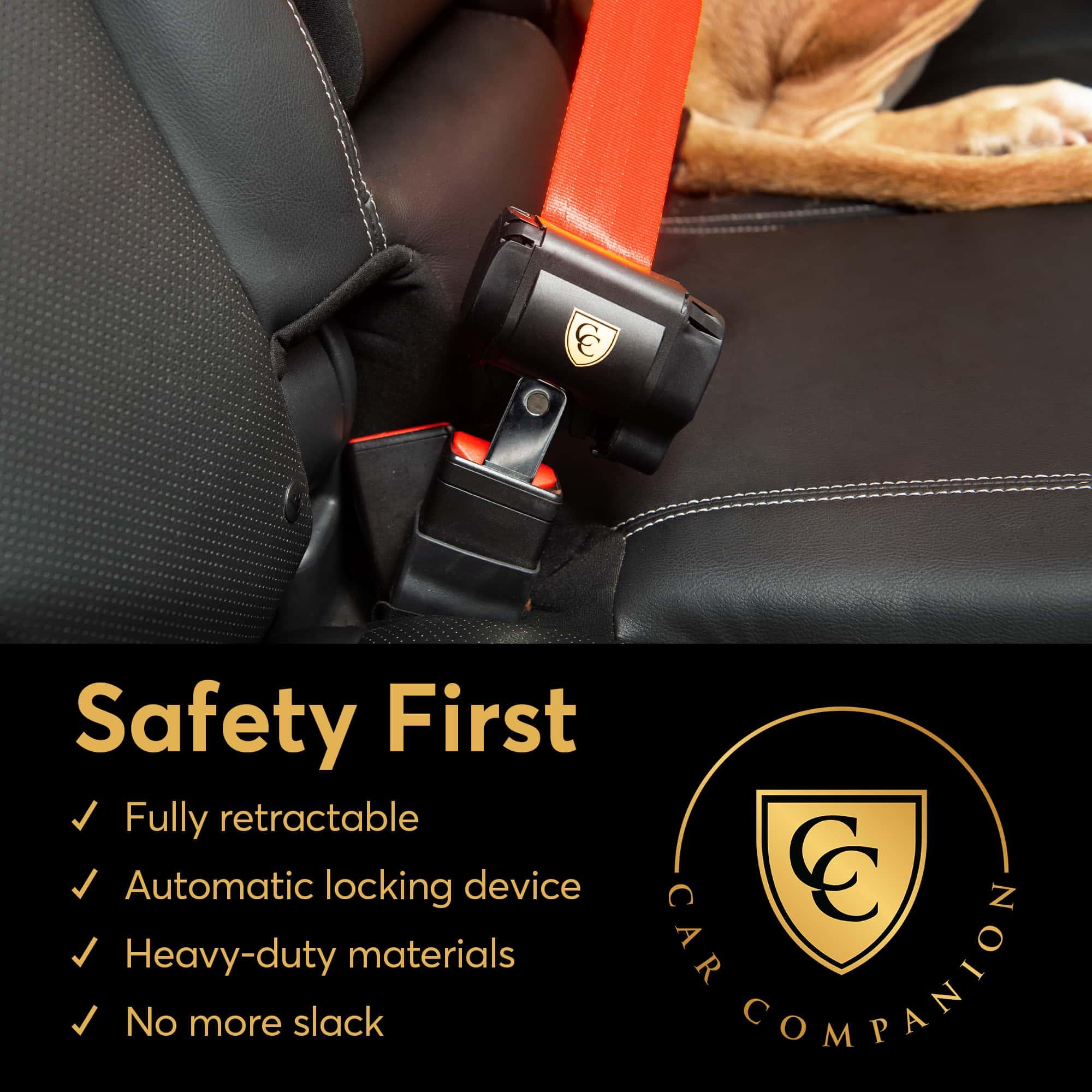 加拿大 Car Companion 自動鎖定裝置狗狗安全帶