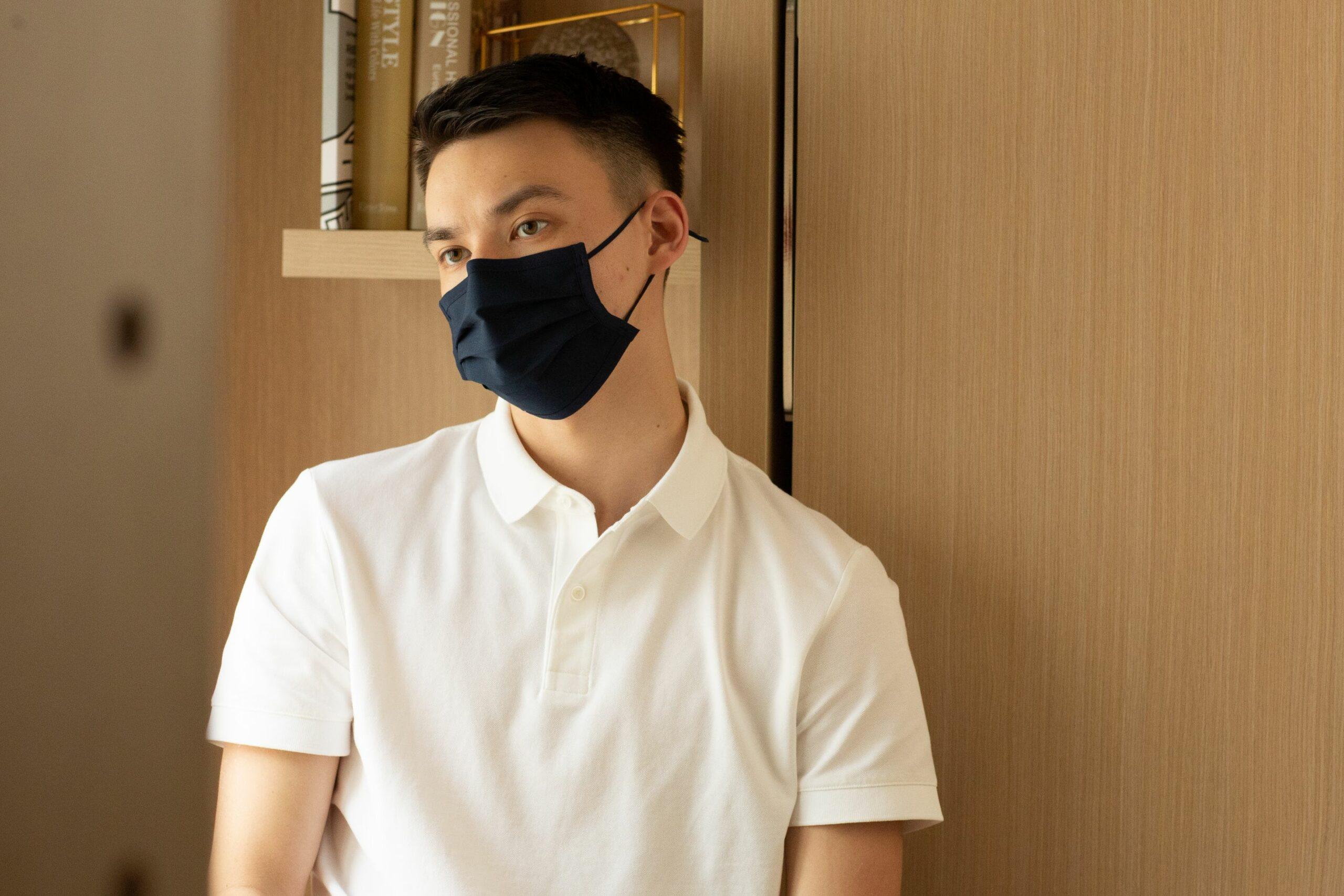 香港本土品牌 DET30™ 可重用拒水抗菌棉布口罩