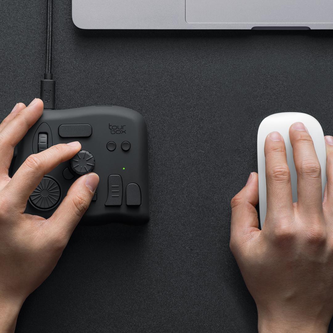 TourBox NEO-創意軟體繪圖鍵盤15