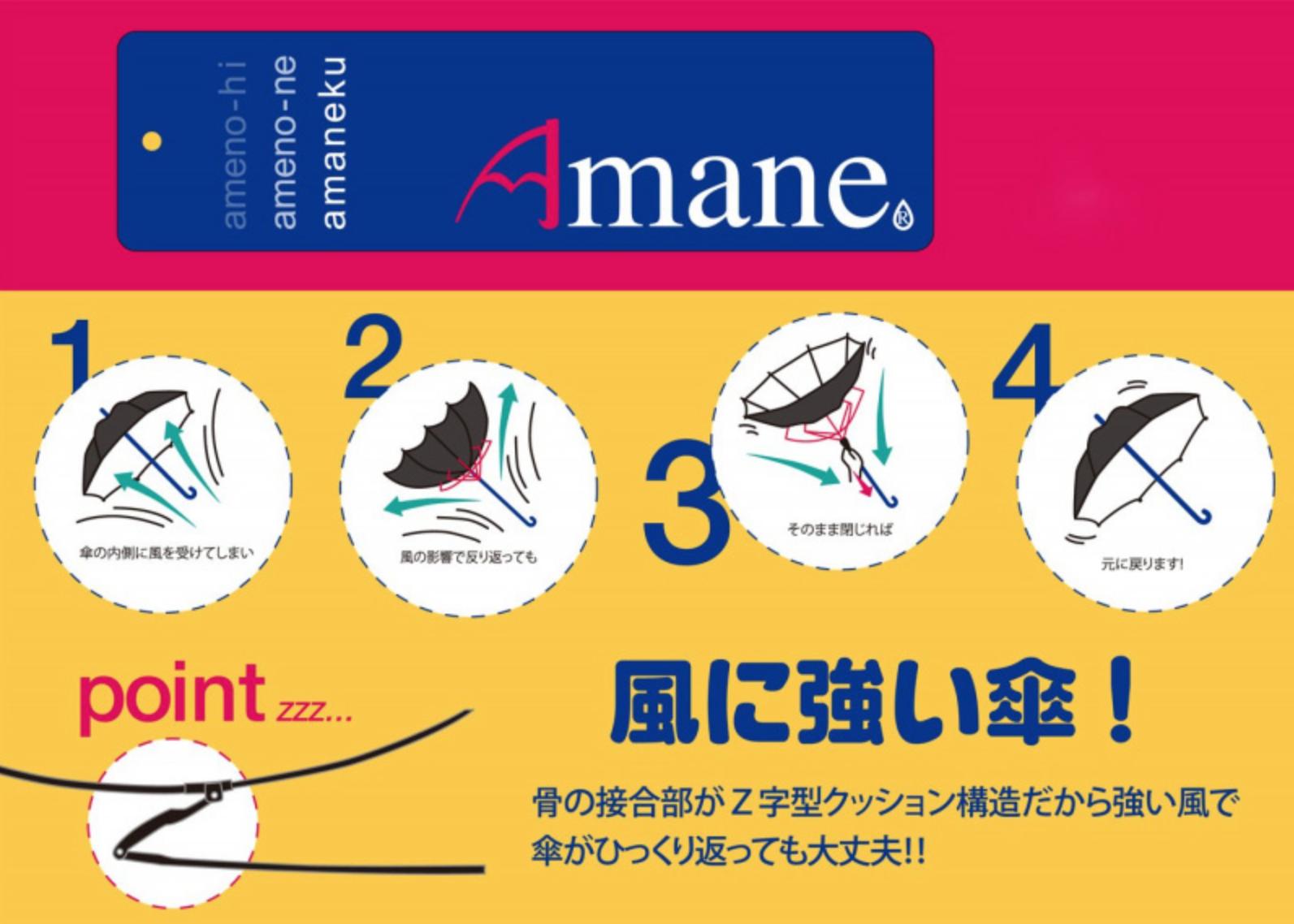 Amane 極輕量碳纖維折疊傘4