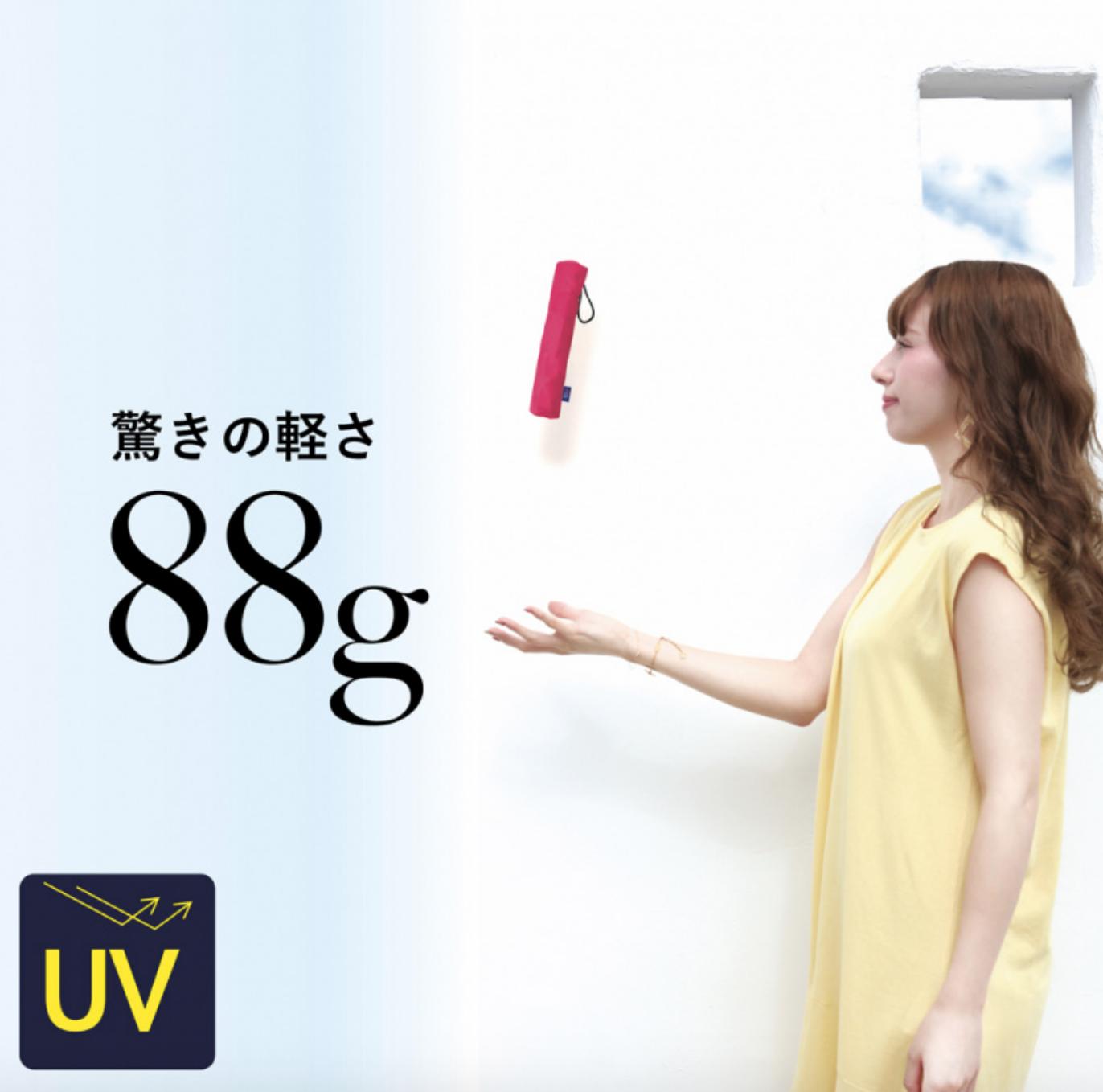 日本Amane極輕量折疊傘88g 小尺寸 1