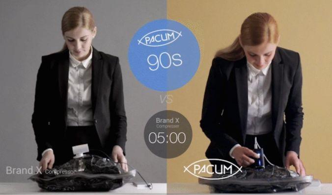 香港 Pacum 充氣X壓縮兩用機-吸力速度為他牌的四倍快