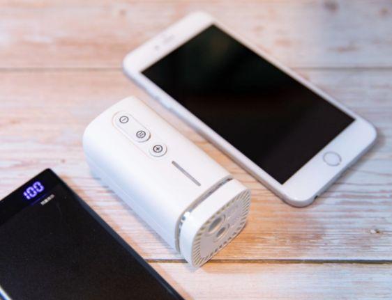 香港 Pacum 充氣X壓縮兩用機-比iPhone X小的極致真空收納機