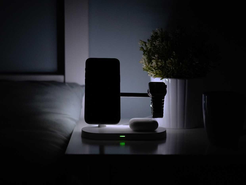 5合1 MagSafe 夜燈無線有線快充站